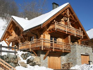 Holiday Chalet In Alpine Mountain Village