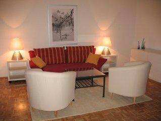 Das zentrale Apartment fur 2-6 Gaste liegt direkt an der Altstadt von Salzburg