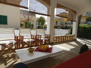 Komfortables, funktionelles Ferienhaus mit Pool und schonem Aussenbereich