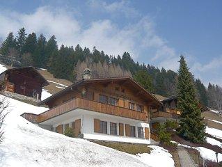Ruhige, sonnige und gemutliche 3-Zimmerwohnung mit Aussicht in die Bergwelt