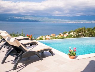 Luxury apartment in new villa with infinity private pool and stunning sea views