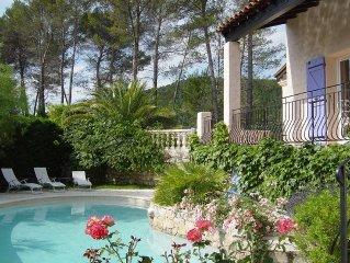 Villa provencale entre Ste Maxime et les Gorges du Verdon