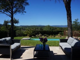Architect villa near St Tropez !!15% discount for september!!