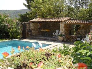 La Gardiole - gite avec piscine à Bonnieux