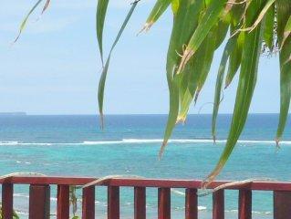 Le Moule, Morel, location de charme, accès direct plage et parcours de santé.