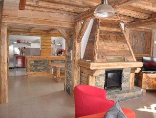 Chalet 15 people, 7 bedrooms with 7 bathrooms / toilets, great superb view field