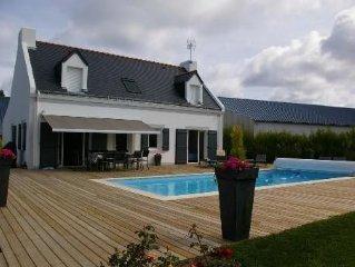 maison de 133m2 avec piscine privee sur jardin de 750 m2