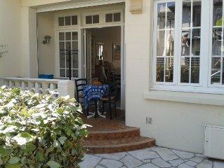 Charmante maison Touquetoise, lumineuse et chaleureuse.