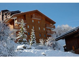 MEribel Mottaret ***apartment (+Meribel label) at the heart of the 3 valleys