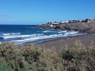 45m2 apartment playa del hombre, private terrace, 1 bedroom, sleeps 4
