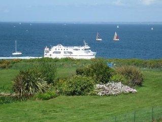 Location Maison vue panoramique sur Mer a 10 min des plages et du Port