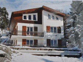 Chalet a Font-Romeu, altitude 1800m, vue imprenable, confortable, pour 6 personn