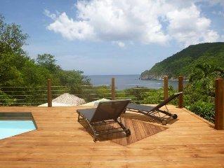 Villa avec piscine privée, vue sur mer
