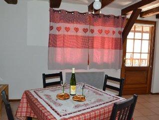 Duplex calme dans un charmant village Alsacien