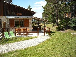 Chalet Mont Ventoux Provence 100% nature Eté/Hiver Vélo Rando