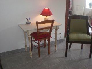 appartement de charme de 60 m2   proche de La Rochelle avec coin detente