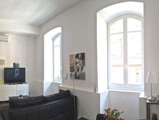 Studio climatisé et rénové dans le centre de Nice, pour 4 personnes