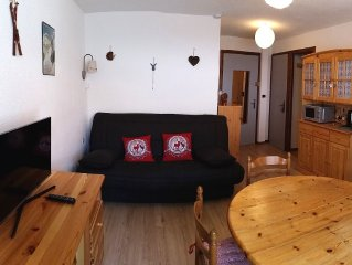 Sixt Fer à Cheval comfortable 2 bedroom apartment 4 pers winter / summer season