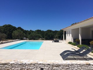 Beautiful villa, private heated pool, Bonifacio