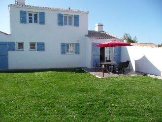 Villa neuve avec jardin a 800m de la plage situee sur l'ile de Noirmoutier