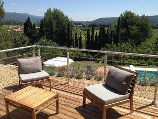 Villa tout confort  au calme, proche du village, des magasins et restaurants