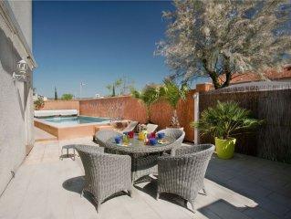 Ma villa du Sud avec piscine privee : Un Parfum de mer et de Garrigue
