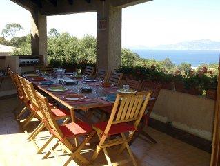 Grande villa accueillante avec vue sur mer et piscine privee, classee 4 etoiles