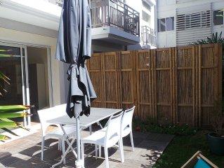 Appartement avec jardin proche plage