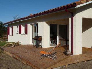 Maison fontionnelle à louer proche de deux magnifiques plages.