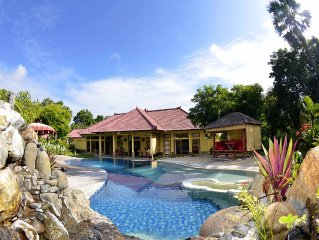 Villa d'exception nord bali, à coté du parc national ' bali barat '