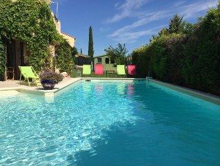Suite de charme et grande piscine