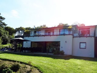 Villa neuve de standing, vue mer & proximite thalasso
