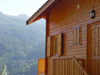 Classé 3* - Appartement duplex 150m² - vue exceptionnelle sur vallée et sommets