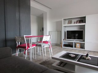 renovated apartment, sea view, 2nd and last floor, quiet