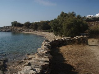 location villa paros au bord de la mer
