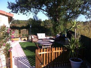 Maison confort clim 8pers piscine internet oasis village 5* pres Frejus plage