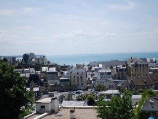Maison de charme avec vue sur la mer a 2 pas du centre ville et de la plage