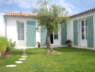 Maison pleine de charme à l'Ile de Ré (12pers)