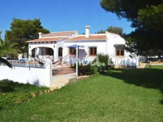 Villa in Javea with swimming pool available and a