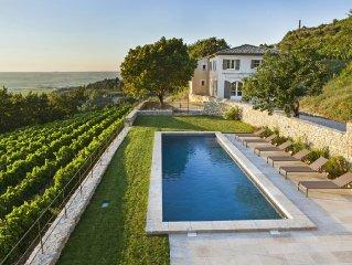 Clos Derrière Vieille - Maison de vacances à Gigondas en Provence
