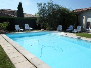 Villa 8 couchages avec piscine privée proche de la rivière et du Perigord