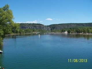 apartment 4/6 persons Quinson; at the edge of the lower Verdon gorges