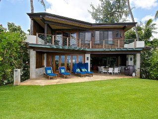 North Shore Elite Oceanfront Paradise
