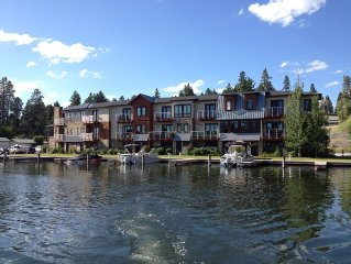 Upscale Condo On Flathead Lake In The Bigfork Marina