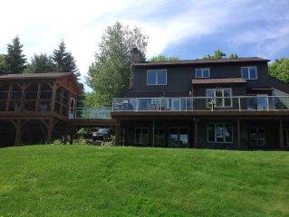 Private Luxury Cottage on Peninsula Lake in Huntsville