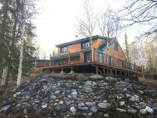 Caribou Acres - Charming Log Cabin On 5 Acres