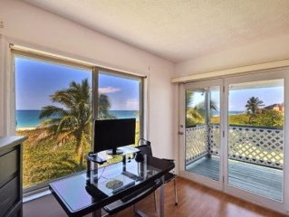 2/2.5 Duplex Directly On Beach With Stunning Ocean Views From Every Window