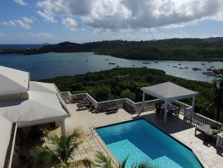 Featured in HGTV's Caribbean Life! Stunning Water Views. Tranquility. Luxury.