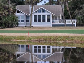 Golf Course Home: 3BR 2 1/2 Bath, Hdtv, Wifi