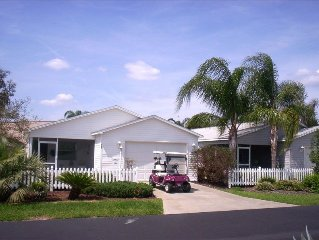 Upgraded Villa 1.5 Miles from Both Squares!  Free Golf/Cart and golf privileges